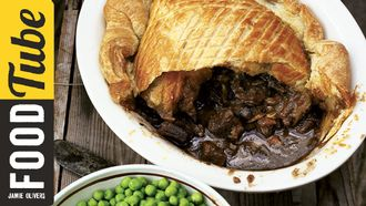 Steak & Guinness pie: Jamie Oliver