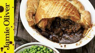 Steak & Guinness pie: Jamie Oliver