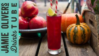 Spooky spiced scarlet cocktail: Rich Hunt & Alba Huerta