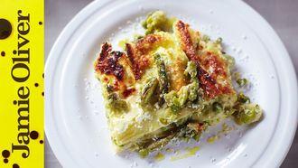 Summer vegetable lasagne: Jamie Oliver