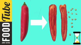 How to de-seed a chilli: Jamie Oliver