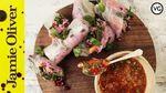 Winter rolls party food: Tim Shieff