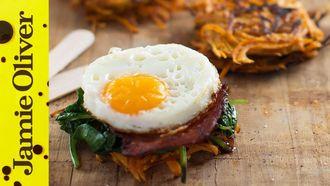 Breakfast bacon stacks: Dan Churchill