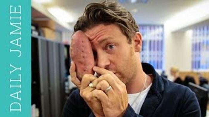Let's talk about sweet potato: Jamie Oliver