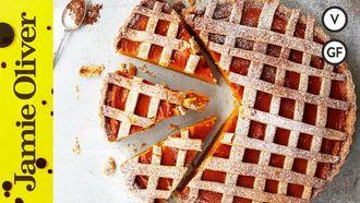 Gluten-free pumpkin pie: Jamie Oliver