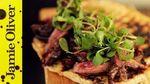 Next level steak sarnie: Food Busker