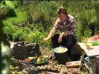 Jamie Oliver cooks tasty prawns on the BBQ