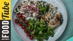 Egg white omelette with Middle Eastern flavours: Dalia Dogmoch