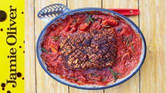 Piri piri pork belly: Jamie Oliver