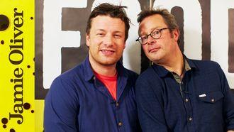 Hearty sausage & prune casserole: Jamie Oliver & Hugh