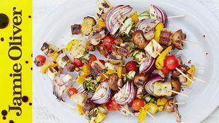 Chargrilled Veggie Kebabs