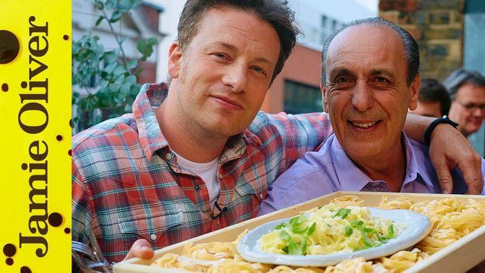 Lemon & basil fettuccine: Jamie Oliver & Gennaro Contaldo