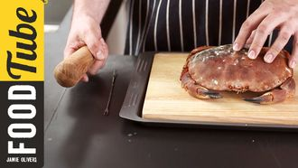 How to prep crab: Pete Begg