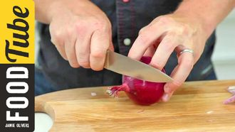 How to chop an onion: Jamie Oliver