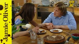 Chocolate tart: Jamie Oliver