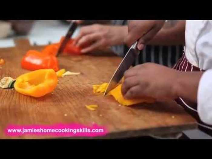 How to prepare a pepper – Jamie Oliver's Home Cooking Skills