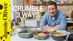 How to make fruit crumble