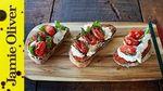 Tomato & ricotta bruschetta: Gennaro Contaldo