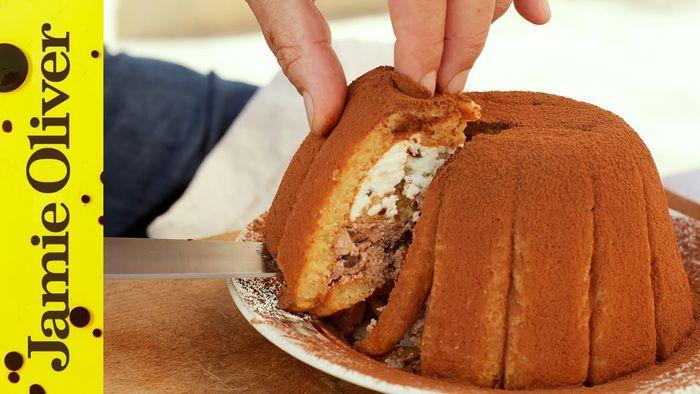 Sweet Italian zuccotto dessert: Gennaro Contaldo