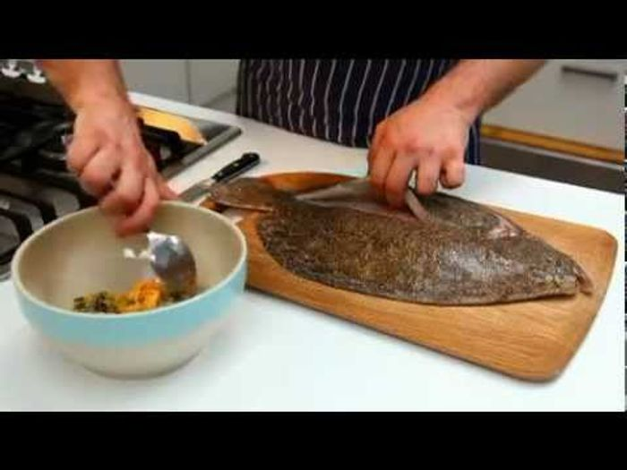 How To – prepare flatfish, from Jamie's America