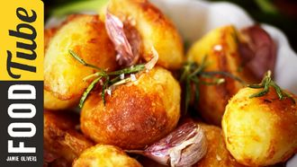 Perfect roast potatoes: Jamie Oliver