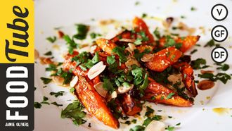 Honey roasted carrots: Hugh Fearnley-Whittingstall