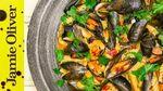 Mussels pasta e fagioli: Katie Pix