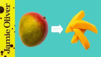 How to prepare a mango: Jamie Oliver