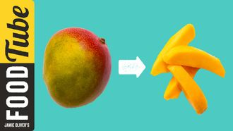 How to prepare a mango: Jamie Oliver