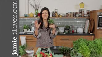 Basic herbs masterclass: Jamie's Food Team