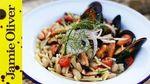 Seafood pasta with cannellini beans: Gennaro Contaldo