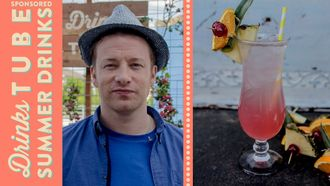 Singapore sling cocktail: Jamie Oliver