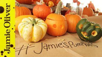 Halloween pumpkin carving: Jamie Oliver