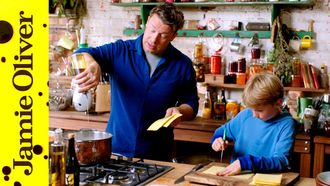 A very British Bolognese: Jamie Oliver