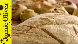 Easy homemade bread: Jamie Oliver