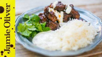 Pork vindaloo: Mallika Basu