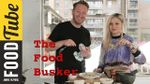 Simple spaghetti carbonara: The Food Busker & Nina Nesbitt
