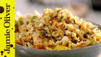 Egg fried rice: Jamie Oliver
