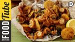 Crispy fried squid: Jamie Oliver