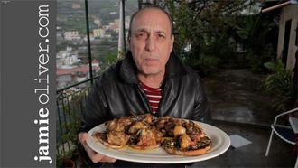 Chicken with chilli, garlic and rosemary: Gennaro Contaldo