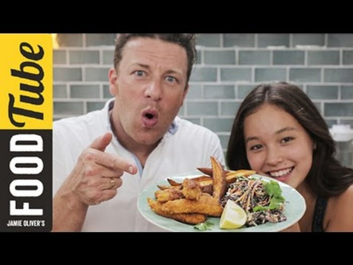 Homemade chicken nuggets: Jamie Oliver & Amber Kelley