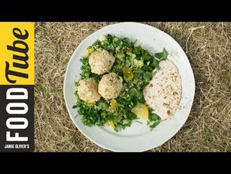 Falafel with spiced tabouleh: French Guy Cooking