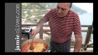 Chilli tomato taglierini: Gennaro Contaldo