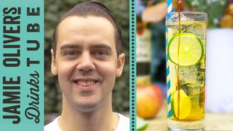 Golden toffee apple cocktail: Simone Caporale