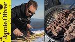 BBQ lamb kebabs: Tobie Puttock