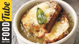 English Onion & Leek Soup - Jamie at Home