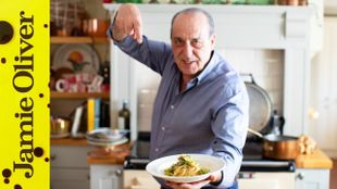 Brussels sprouts linguine with leftovers: Gennaro Contaldo