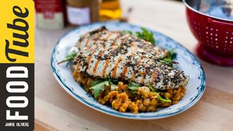Gorgeous griddled chicken: Donal Skehan