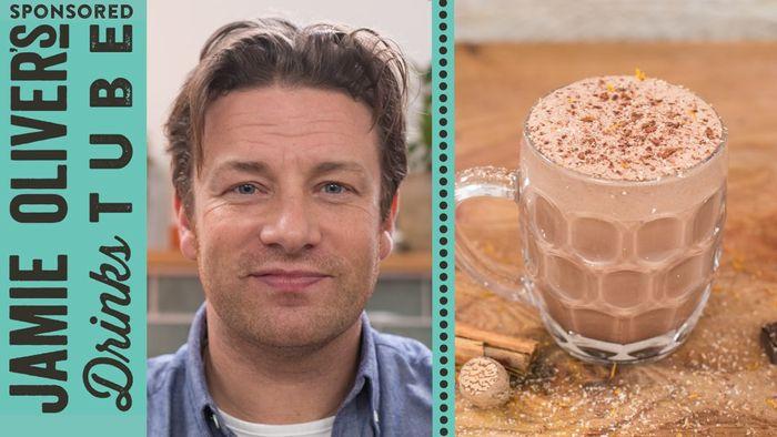 Chocolate eggnog recipe: Jamie Oliver