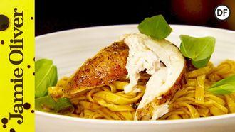 Mediterranean roast chicken pasta: Jamie Oliver